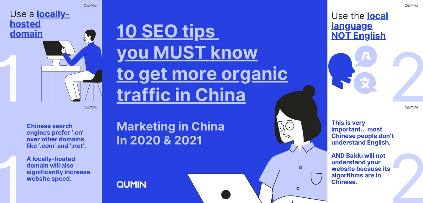 SEO tips for marketing in China